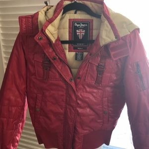 Pepe Jeans ski coat. Medium. Terrific condition